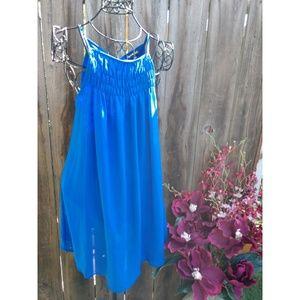 Sheer blue dress size S